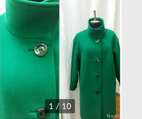Перешить пальто до и после фото